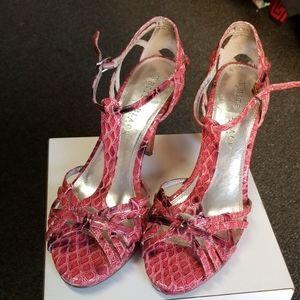 Pink White House Black Market sandal by sz 9.5M